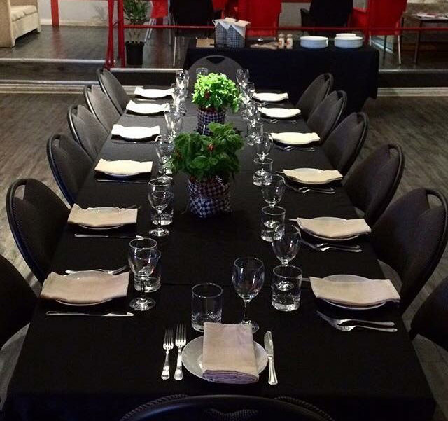 VIP-Table-Set-up